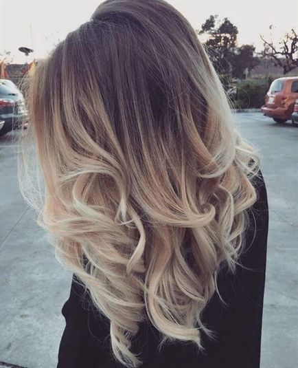 25 Best Hairstyle Ideas For Brown Hair With Highlights Medium Length Light Brown Hair With Blonde Ombre Starti Ombre Hair Blonde Hair Styles Brown Blonde Hair