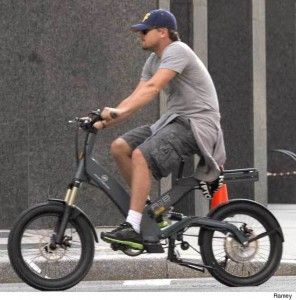Leonardo DiCaprio on his Ultra Motor A2B Electric Bike