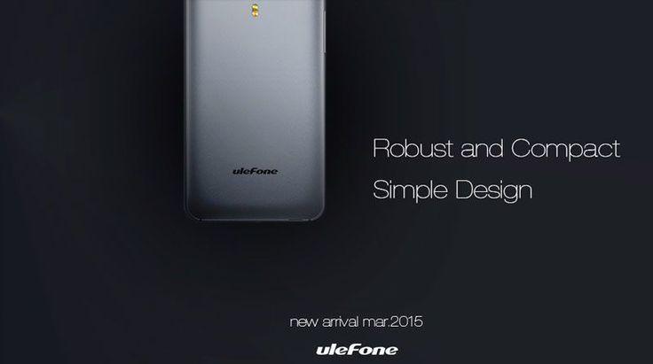 Los mas seguro es que el nuevo smartphone de Ulefone venga con los nuevos procesadores de moda de Mediatek ya sea con un MT6752 o MT6732 (por que viene con Lollipop) doble SIM, SD y LTE son probables características del nuevo teléfono también.