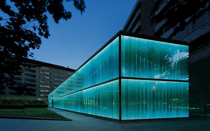 Roca Barcelona Gallery illumination project, by artec3 Studio.