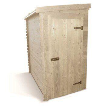 Abri de jardin bois Igor2, 1.88 m² Ep.19 mm | Leroy Merlin