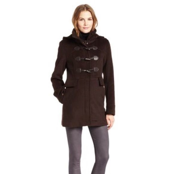 Brown toggle coat - United colors of beneton | Pea Coat Coats and Fit