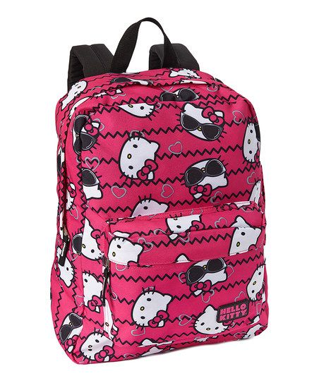 HK |❣| HELLO KITTY Loungefly Pink Shades Backpack