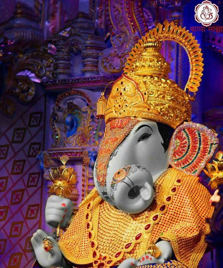 Dagdusheth Pune. Ganpati bappa morya
