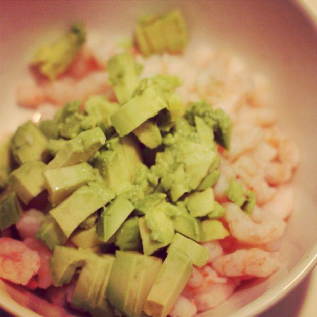 Shrimp Avocado Tartar