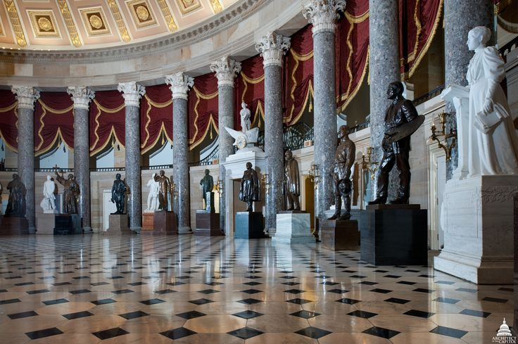 The Architect of the Capitol - Statuary Hall
