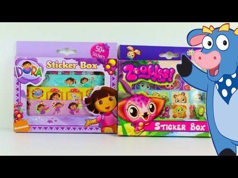 Dora Exploradora y Zoobles juguetes en español