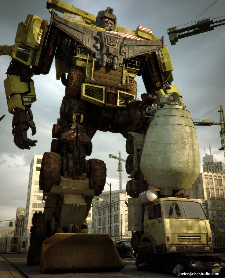 Javeta's 3D Portfolio: Transformers Devastator New Render