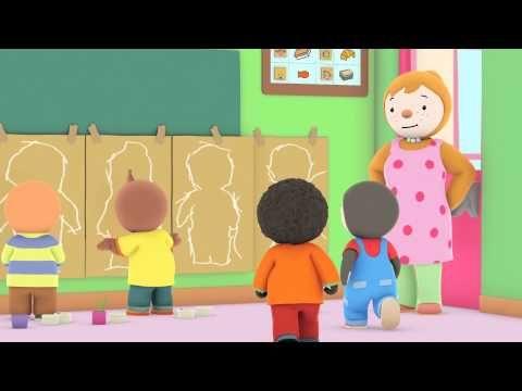 T'choupi à l'école - T'choupi tout plat (EP.7) - YouTube