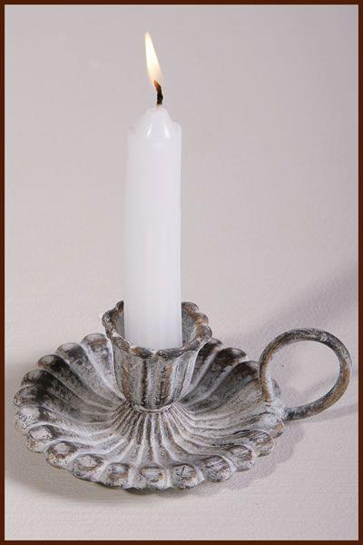 Garden and Home Decor Shop Candle Holder Antique Grey 10x5cm