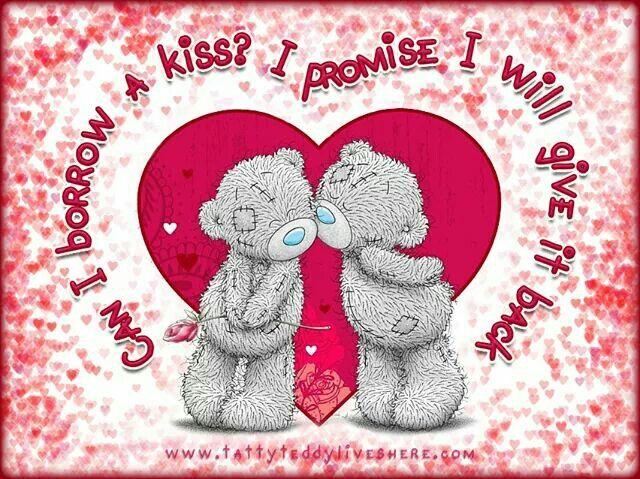 Tatty Ted kiss