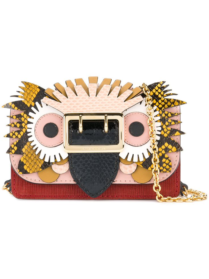 Burberry Beasts motif mini buckle bag