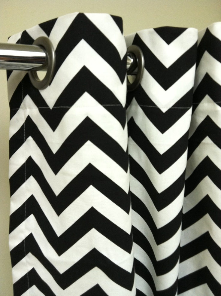 black white chevron shower curtain. Black and white chevron shower curtain 19 best White Gray Shower Curtains images on Pinterest