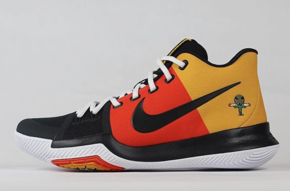 A Closer Look At The Nike Kyrie 3 Raygun PE