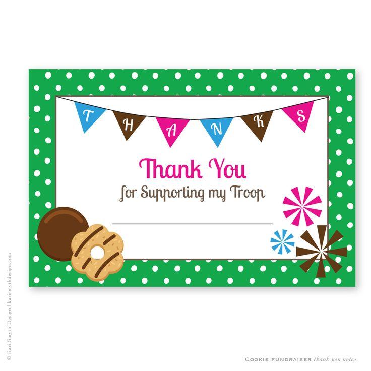 165 best Girl Scout Stuff images on Pinterest Children s - fund raiser thank you letter