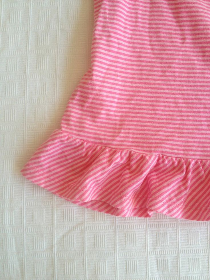Girls Osh Kosh B'Gosh Pink Cotton Striped Dress, Size 4T - Now Selling! Click through to go to eBay auction.