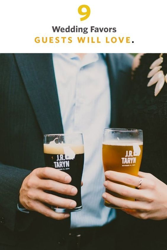 The most important thing when choosing wedding favors is this: Know your guests! It's impossible to find one thing that would thrill everyone at your wedding, but if you know a lot of your friends and family are foodies or beer drinkers or have green thumbs, use that to your advantage.