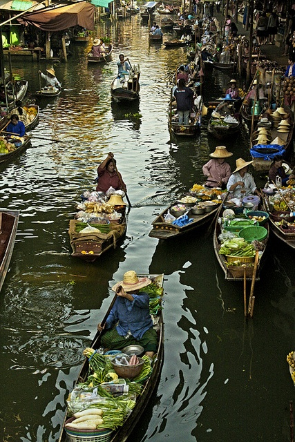 #thailand #floating market