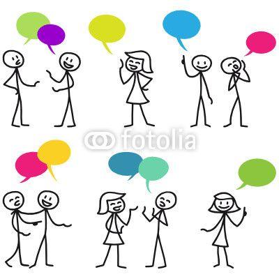 Strichmännchen, Konversationen