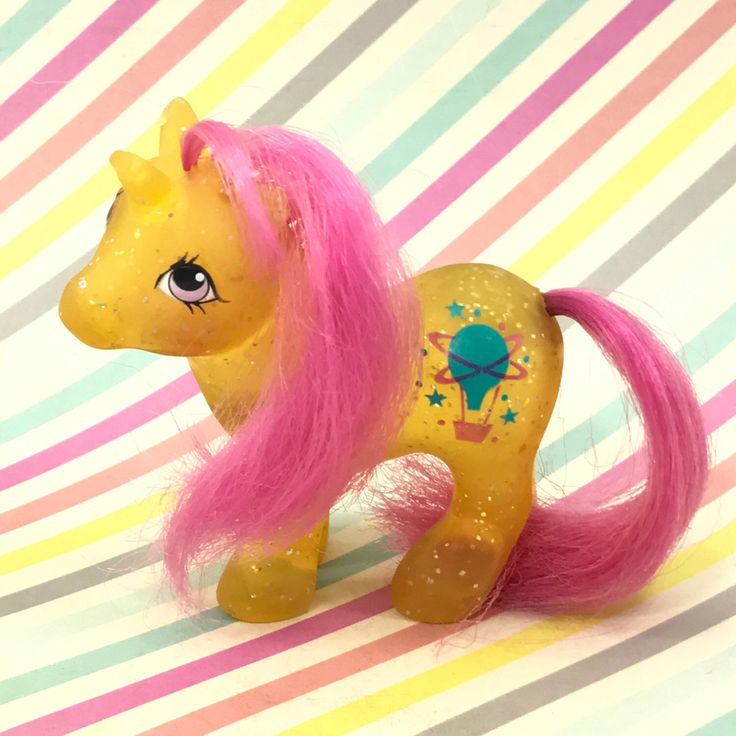 A personal favorite from my Etsy shop https://www.etsy.com/listing/503448369/vintage-80s-mlp-my-little-pony-baby