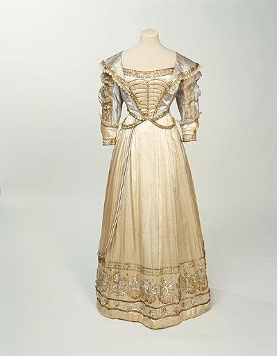Fancy Dress Ball Gown | c. 1826. I hope in a former life i was dressed in fancy gowns such as this everyday.