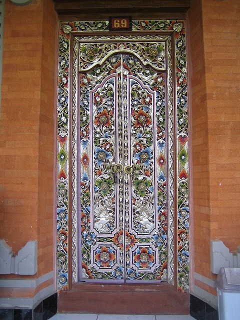 Korean door.