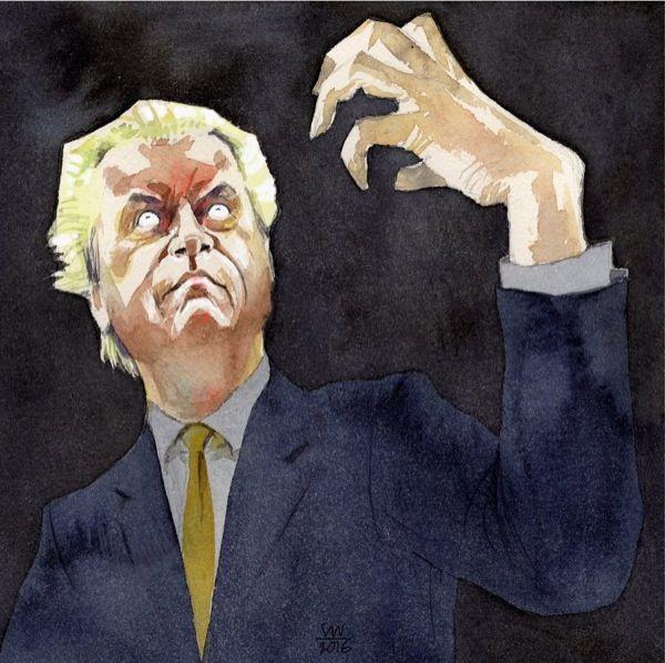Siegfried Woldhek - Geert Wilders