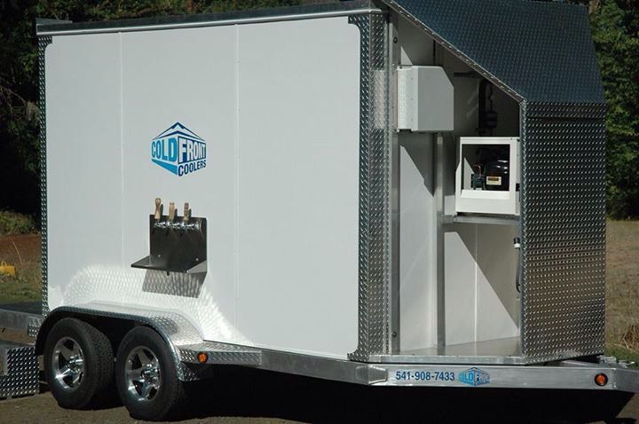 Cold Front Coolers portable refrigeration rentals for weddings, parties, brew fests and more.  Serving the Willamette Valley to Oregon Coast and beyond.