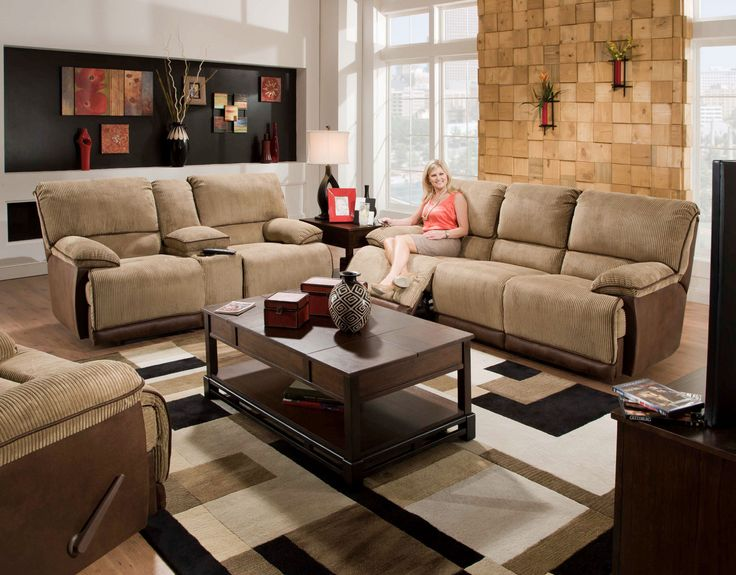 79 best Stationary Living Room Sets images on Pinterest
