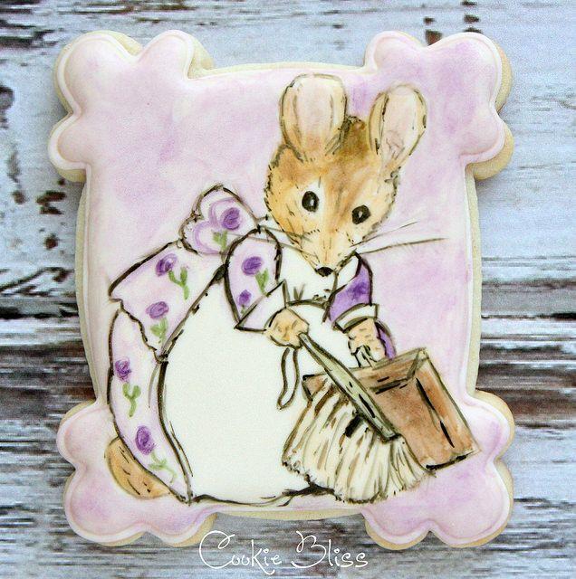 Beatrix Potter hand painted cookies