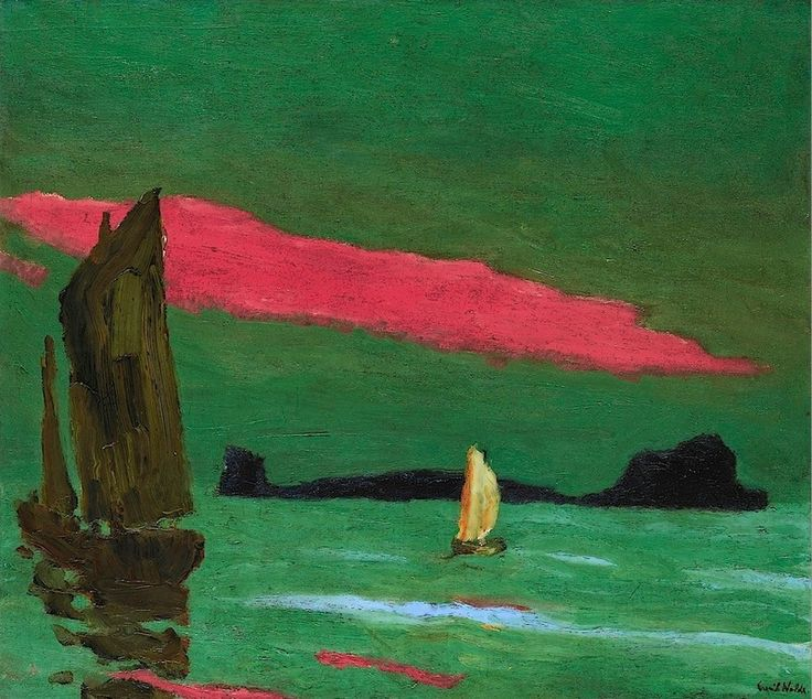 Emil Nolde  South Sea Island - 1915