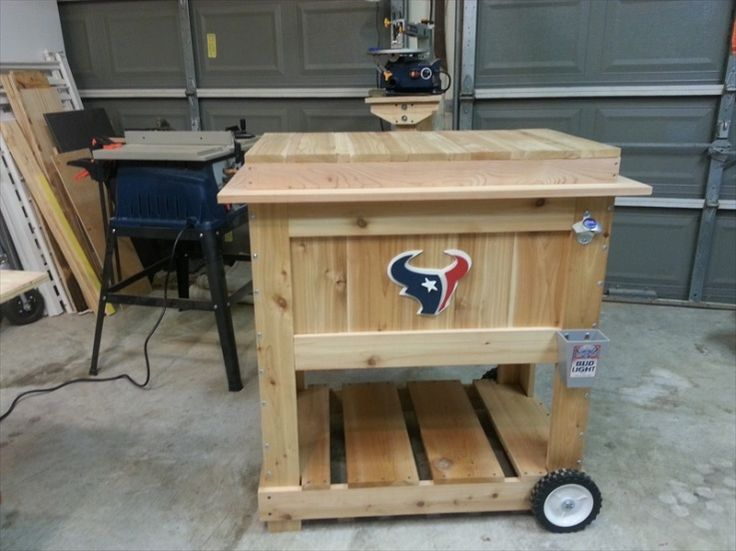 30 best images about kreg on pinterest big green egg for Table with cooler in middle