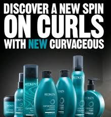 """Happy Tuesday everyone! This fall its all about big beautiful bouncing natural looking curls. Help hold those ringlets in place with Redken""""s Curvaceous line. Humidity can be rough on our luscious locks, our Curvaceous Wind Up is specially formulated to reactivate those waves curls and ringlets. Stop in and pick some up today! 561.265.4668"""