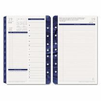 FranklinCovey Monticello Dated Two-Page per Day Planner Refill, 5 1/2 x 8 1/2, 2017