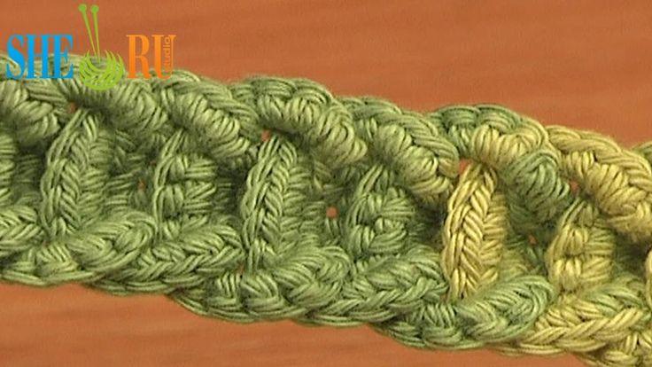 ***Would be a great bag handle*** Crochet Braided Cord Tutorial 56 Crochet Belts Necklaces Bracelets -Teresa Restegui http://www.pinterest.com/teretegui/ ✔