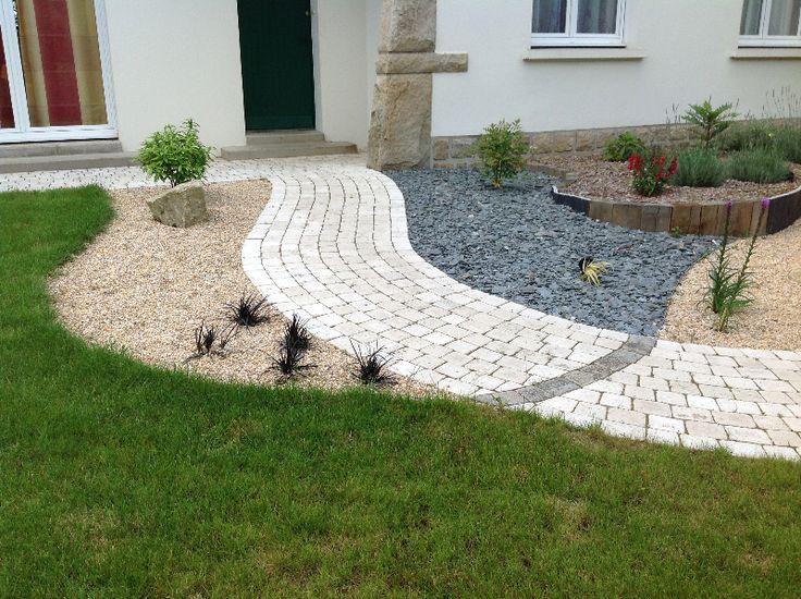 17 meilleures id es propos de bordure pierre sur for Bordure de terrasse en galet
