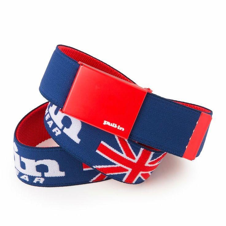 Cinturón Pull-in, bandera inglesa.