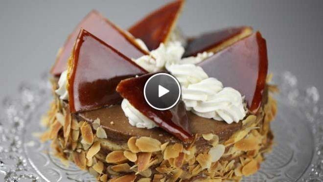 Bolo de Budapeste  Dobostaart - Recept | 24Kitchen
