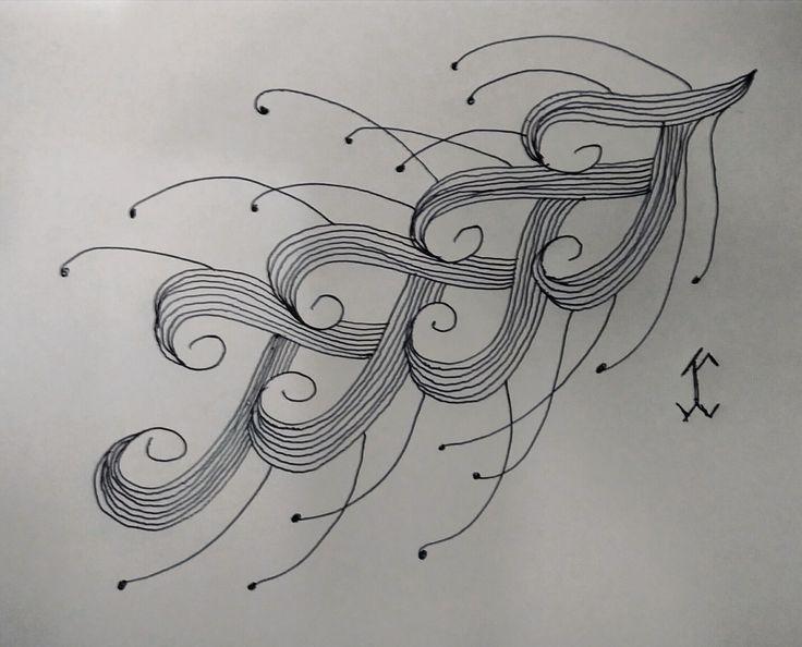 ShapeDoodle08 #followewrs #instagram  #zentangle #3d #drawing #draw #pen #art  #ink #inkwork #zentangles #zentangleart #shape #shapes #mandala #mandalas