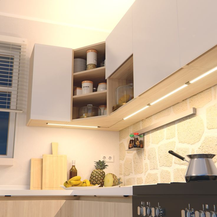 Die besten 25+ Unterbauleuchten Ideen auf Pinterest Moderne - Led Einbauleuchten Küche
