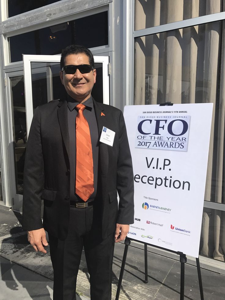 cfo2017 here to honor my hubby for San Diego CFO finalist