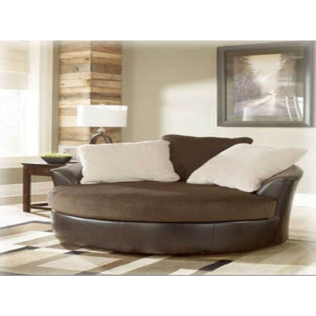 round couch for the home pinterest. Black Bedroom Furniture Sets. Home Design Ideas