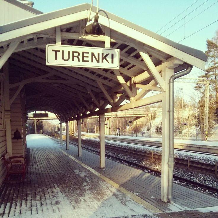 Ravintola Turengin Asema paikassa Turenki, Etelä-Suomen Lääni