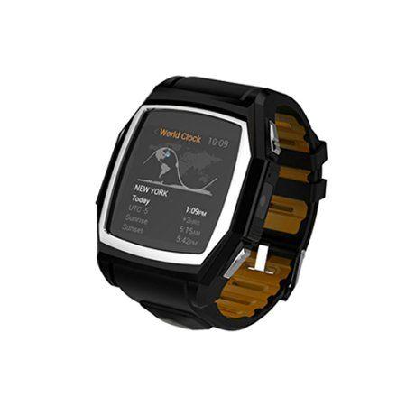 Impermeable GT68 Bluetooth SmartWatch deportes al aire libre del teléfono del reloj para Android IOS: Amazon.es: Coche y moto