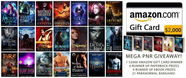 #Paranormal #Romance #PNR and #UrbanFantasy #UF $2000 #GiftCard #Giveaway #AMREADING