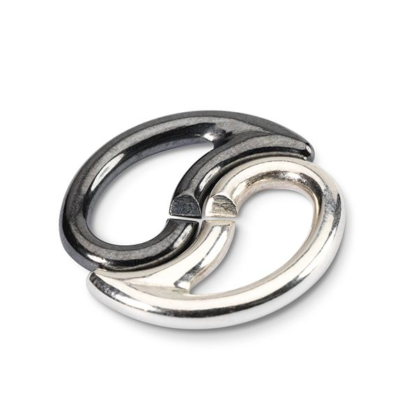 Yin&Yang Link - X by Trollbeads #ZbyAlikiVergidou