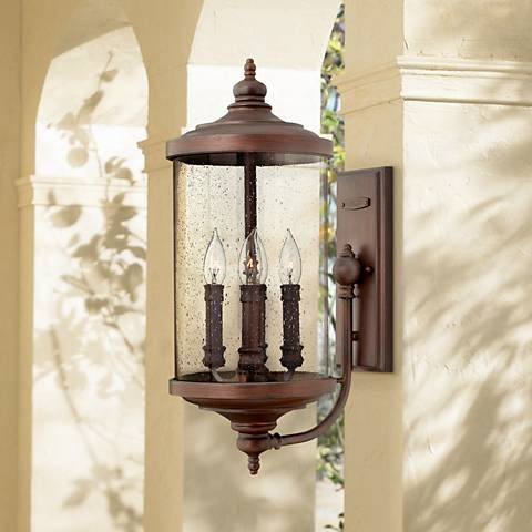 "Hinkley Barrington 22 1/2"" High Bronze Outdoor Wall Lantern"