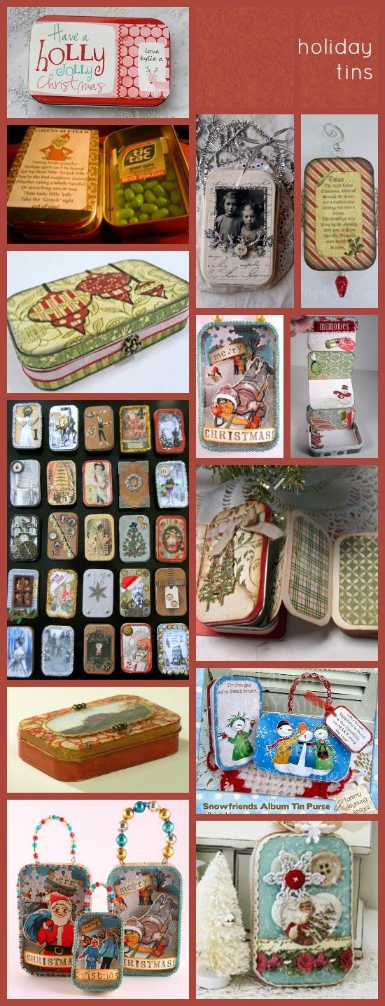 ReUse Altoids Tins! Crafty Fun Ideas for the Holidays! (Maybe I should start now...)