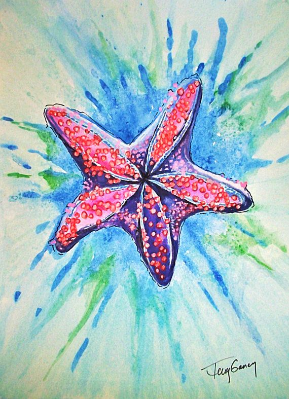 Check out this item in my Etsy shop https://www.etsy.com/listing/453388548/pretty-little-starfish-reproduction