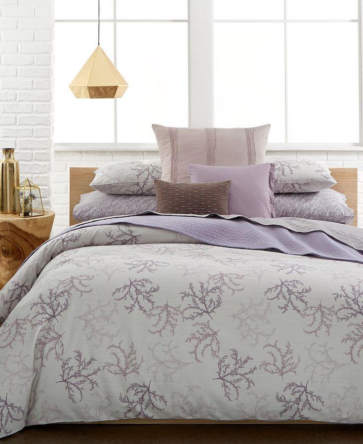 Calvin Klein Mesa DUST Purple Floral Queen